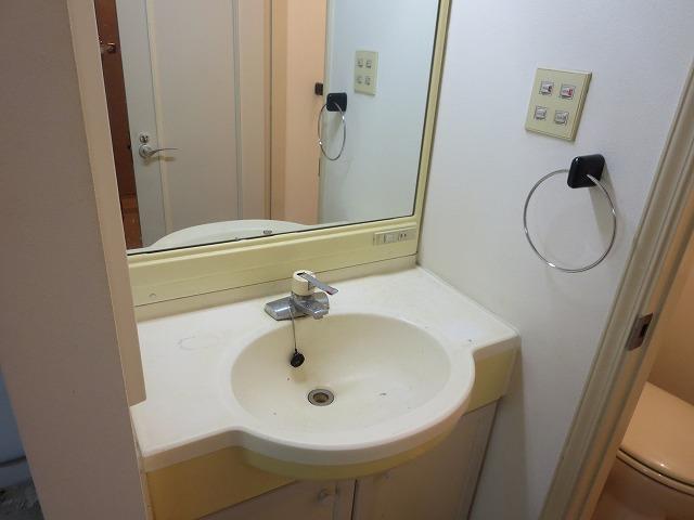 サニーヒルヒバリⅠ 202号室の洗面所