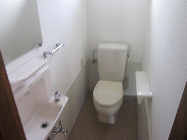 ハイムG 101号室のトイレ