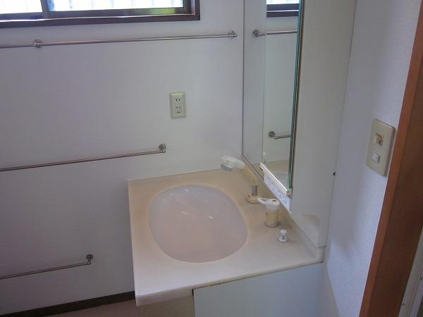 ハイムG 101号室の洗面所
