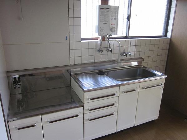 ハイムG 101号室のキッチン