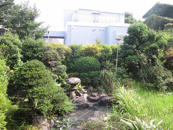 ハイムG 101号室の庭