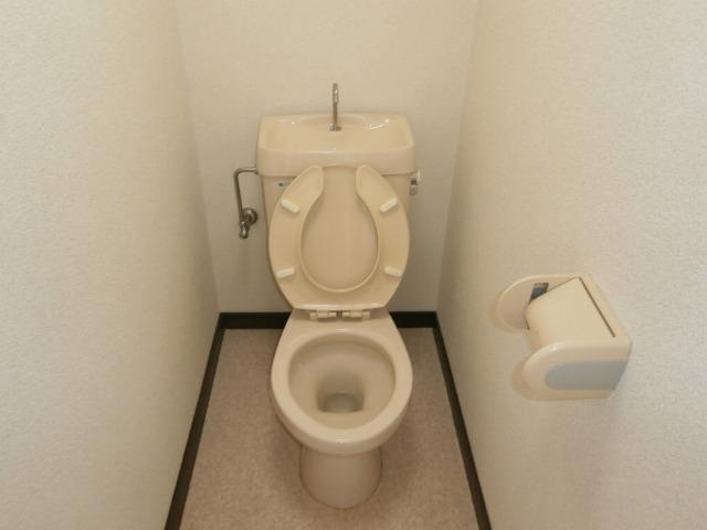 コーポレーションフジ 203号室のトイレ