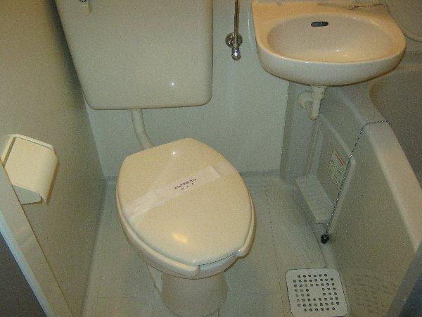 エルミタージュ 205号室の風呂