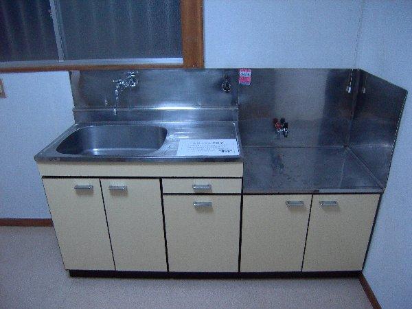 コーポ泉 201号室のキッチン