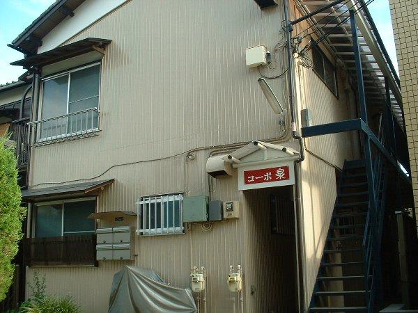 コーポ泉 201号室の玄関