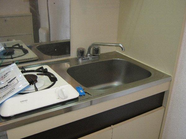 カーサアキム 201号室のキッチン