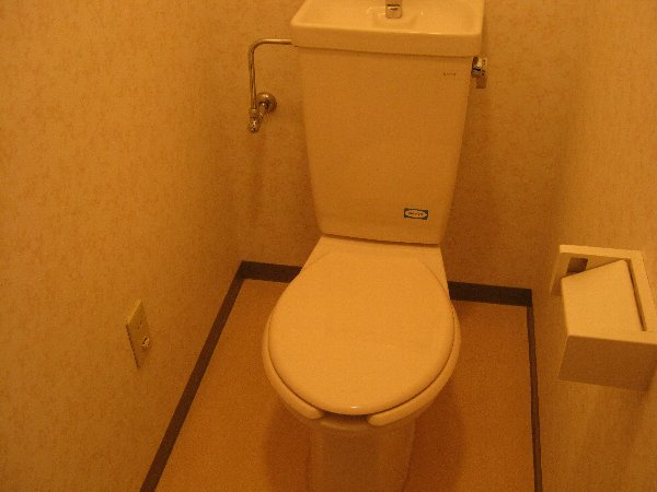 グランドーネ中山 305号室のトイレ