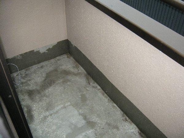 ハイツ大門 303号室のバルコニー