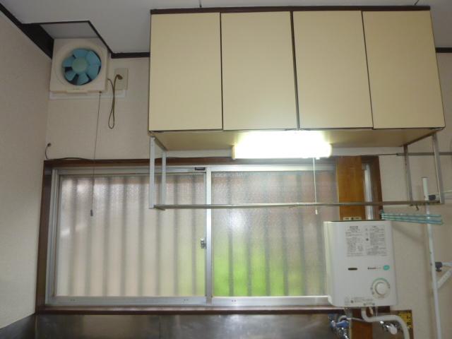 矢上ハイツ 101号室のキッチン
