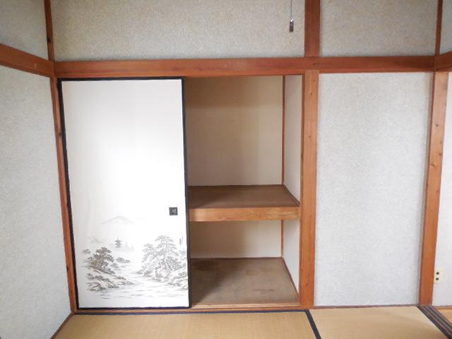 三孝荘 201号室の収納
