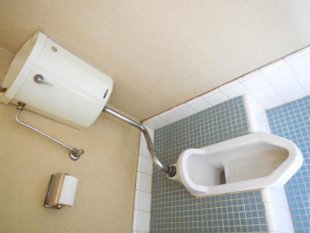 三孝荘 201号室のトイレ