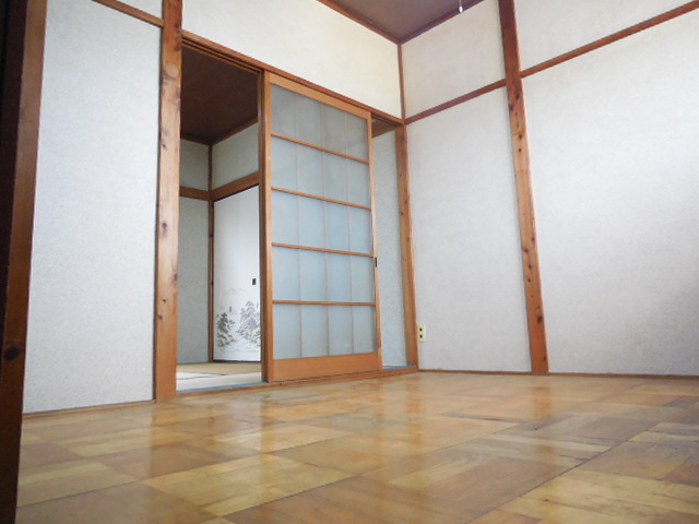 三孝荘 201号室のリビング
