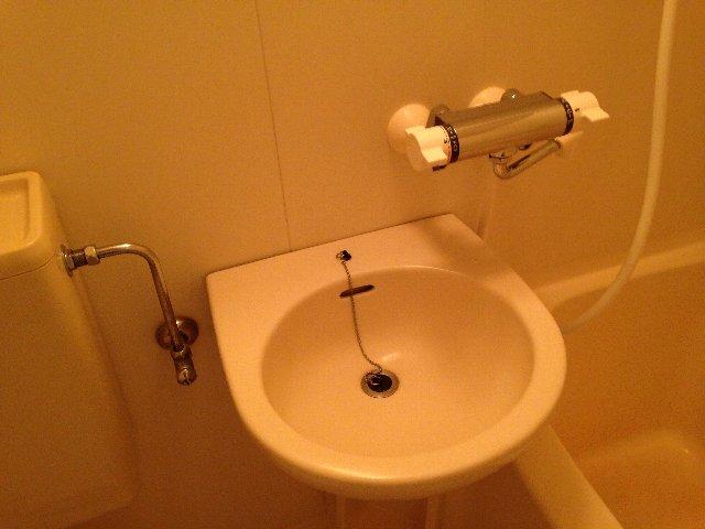 コーポイング 101号室の洗面所