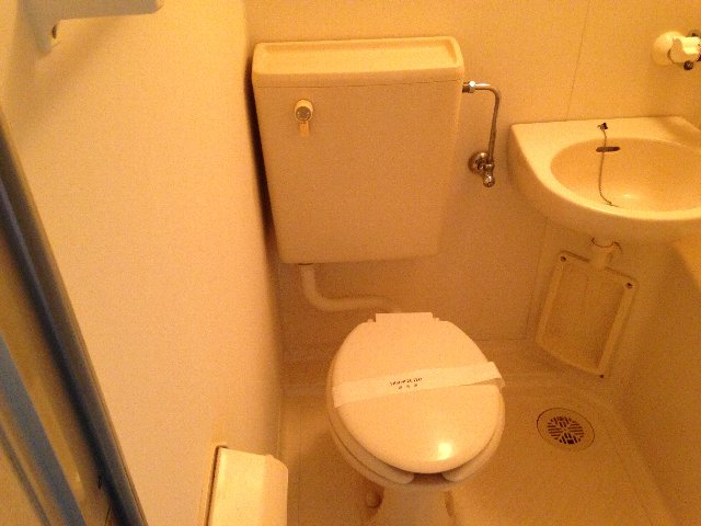 コーポイング 101号室のトイレ