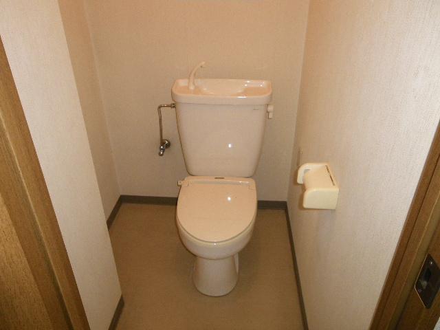 セグンド山星 403号室のトイレ