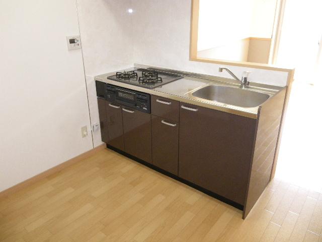 ラバーゼ 204号室のキッチン