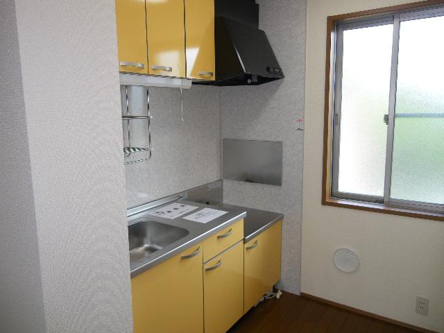 アルフェッカA 201号室のキッチン