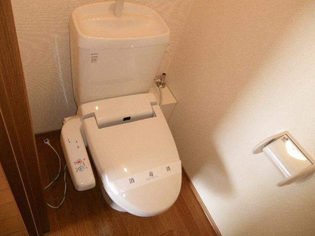アルフェッカA 201号室のトイレ