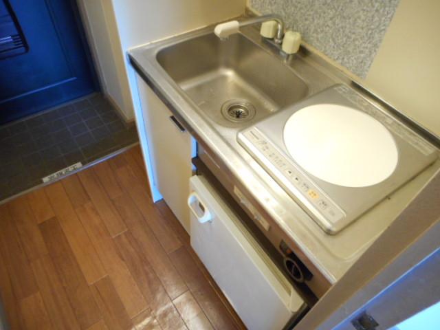 キャトルセゾン橋本Ⅱ 305号室のキッチン