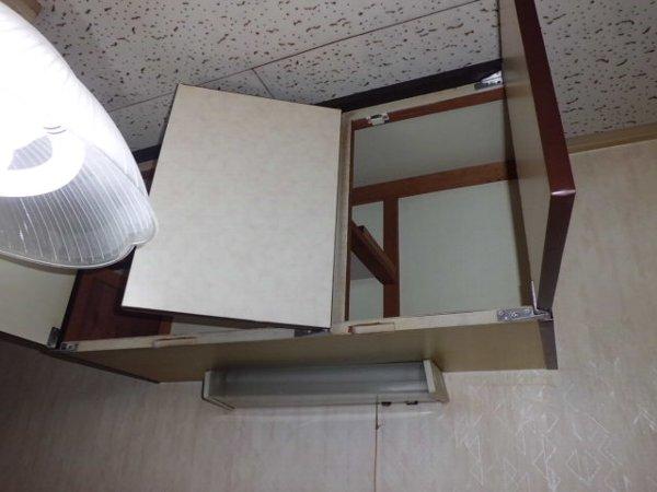 ブルーハイツ平潟 C号室の収納