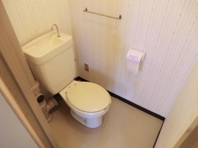 第2西形マンション 302号室のトイレ