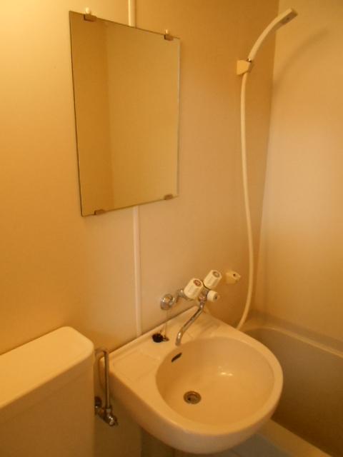 ジュネス下大久保 205号室の洗面所