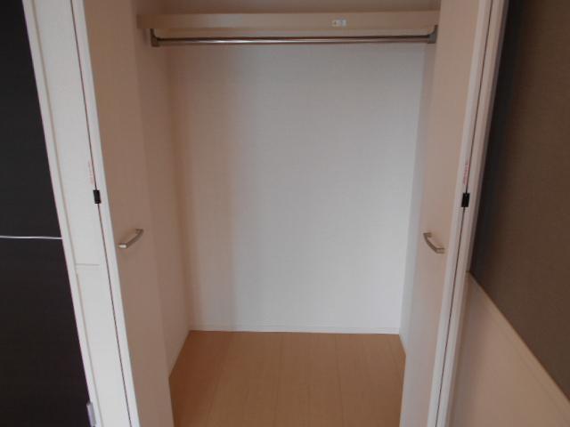 リヴィエール 206号室の収納