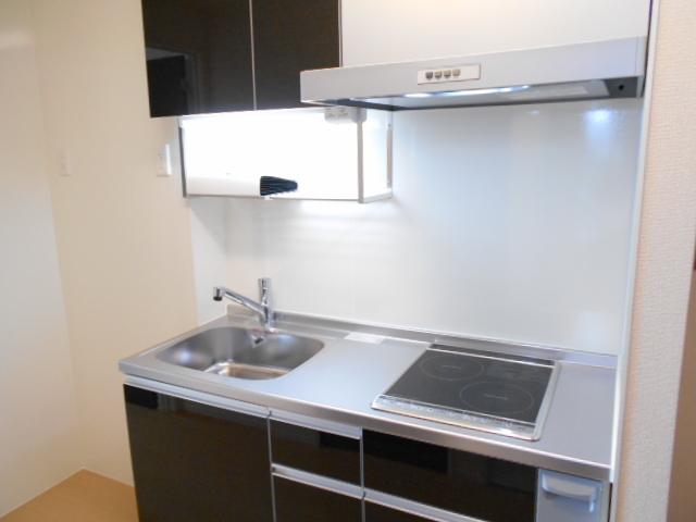 リヴィエール 206号室のキッチン
