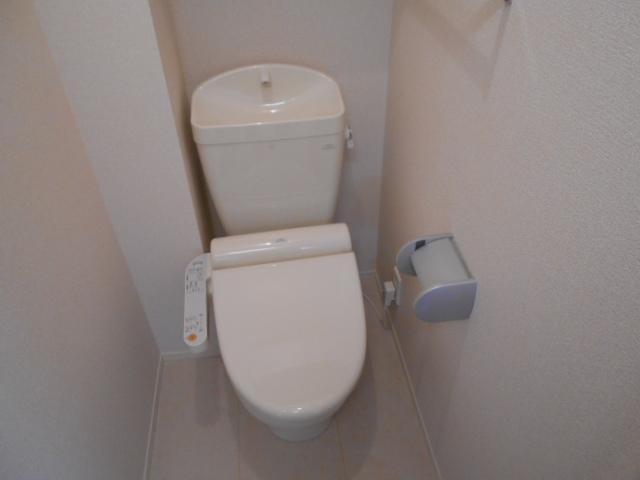 リヴィエール 206号室のトイレ