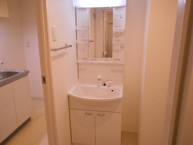 リブリ・イレブン 101号室の洗面所
