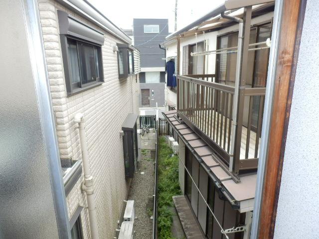 渡邊荘 6号室の景色