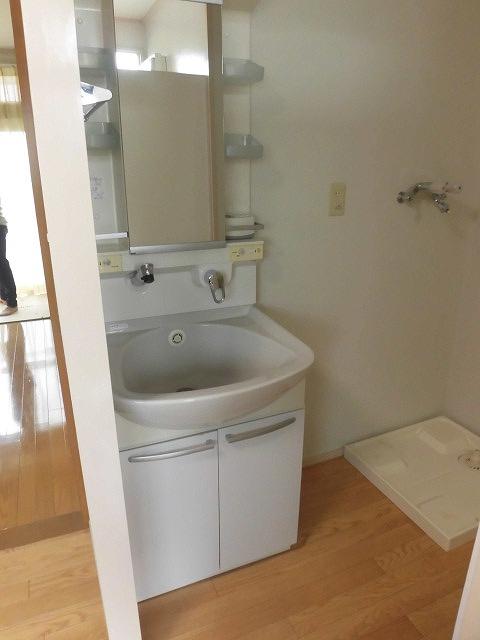 祐天寺コートハウス 203号室の洗面所
