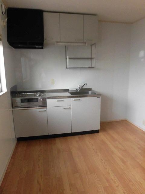 祐天寺コートハウス 203号室のキッチン