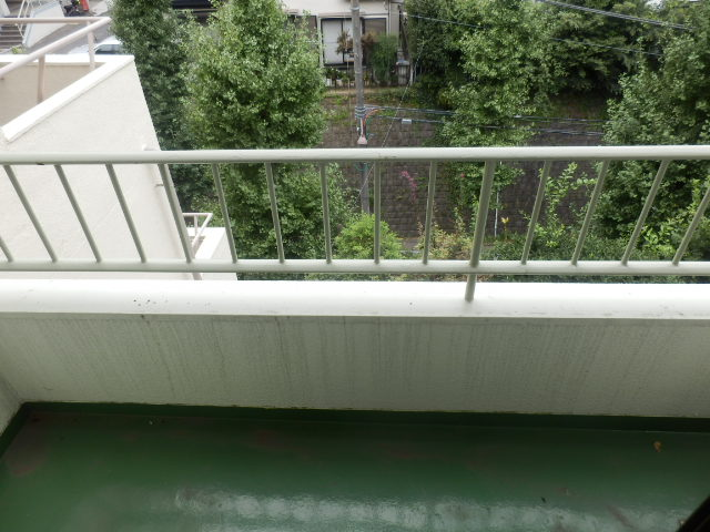 鴻巣橋ハイツ 301号室のバルコニー