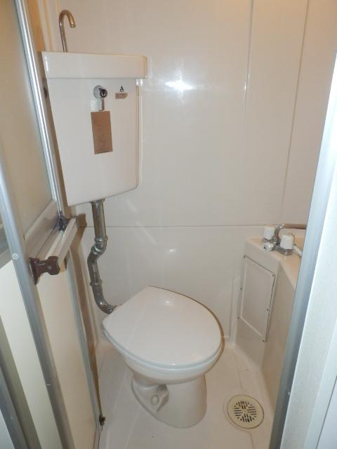 二光荘 211号室のトイレ
