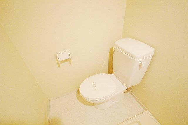 SCARLET箱崎(スカーレット) 203号室のトイレ