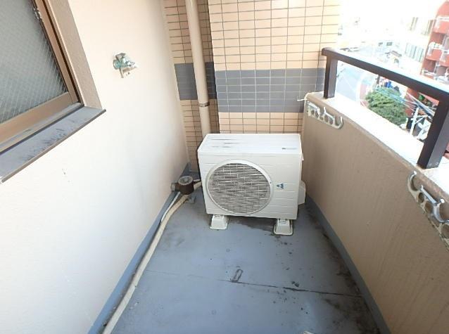 アーバンビュー21 202号室のバルコニー