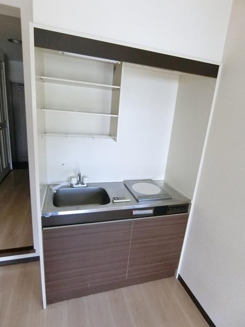 パールハイツ吉塚 301号室のキッチン