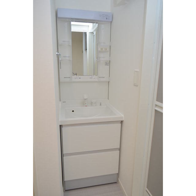 Diira博多 302号室の洗面所