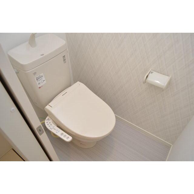 Diira博多 302号室のトイレ