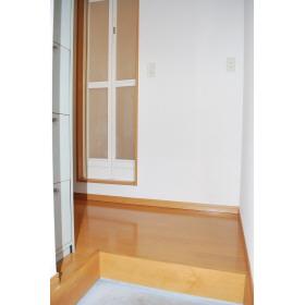 セレーノ 202号室の玄関