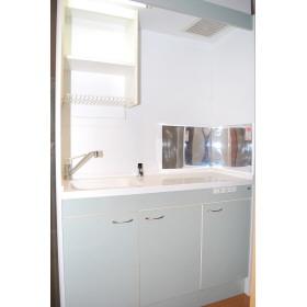 セレーノ 202号室のキッチン