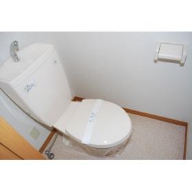セレーノ 202号室のトイレ