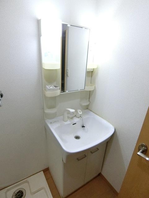 コンフォートベネフィス箱崎7 103号室の洗面所