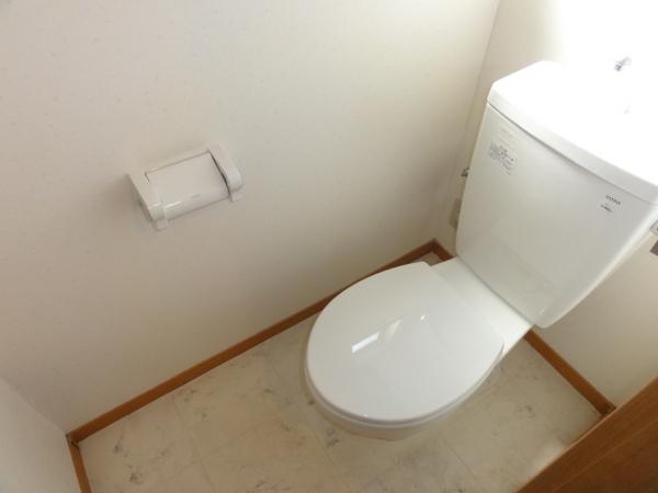 コンフォートベネフィス箱崎8 203号室のトイレ