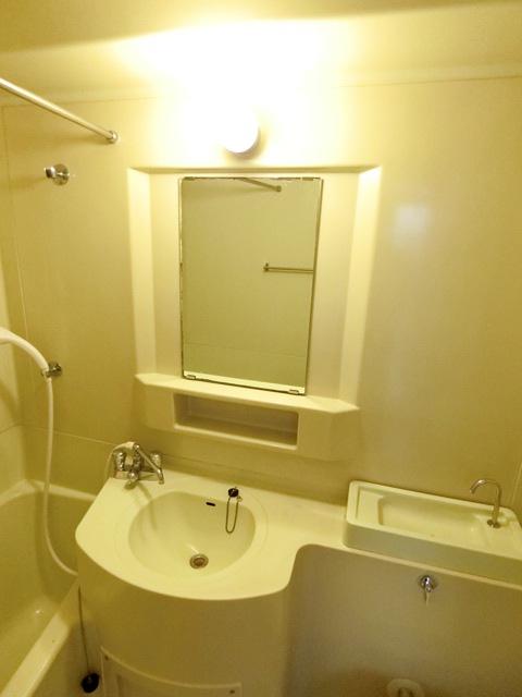 本村ビル 303号室の洗面所