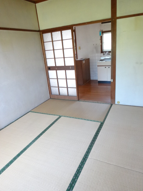 郷口荘 2号室のリビング
