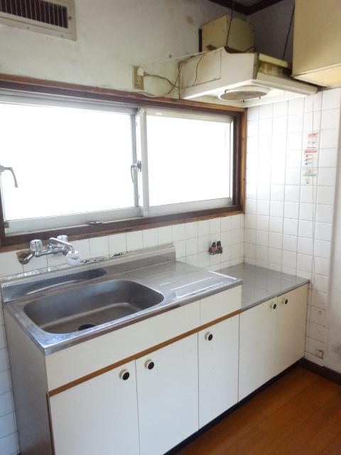 郷口荘 2号室のキッチン