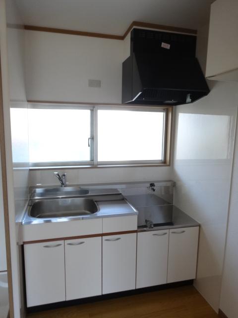 郷口荘 3号室のキッチン
