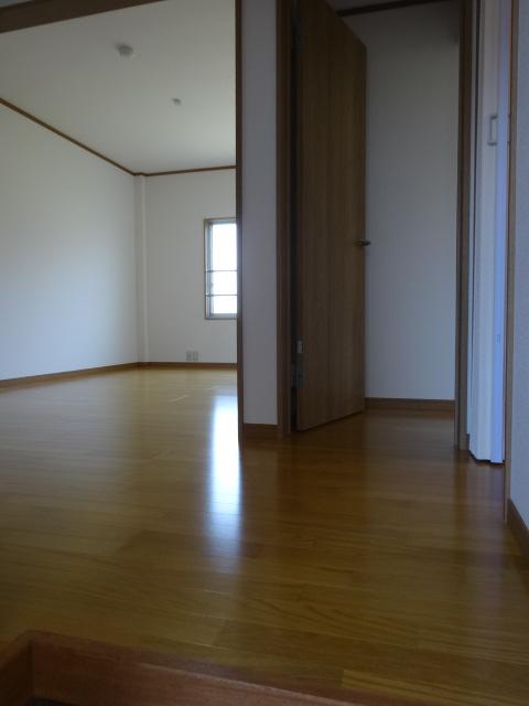 郷口荘 3号室の玄関